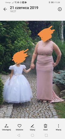 Sukienka /ślubna wieczorowa  r 44