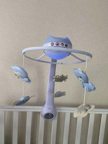 Мобиль infantino карусель на кроватку