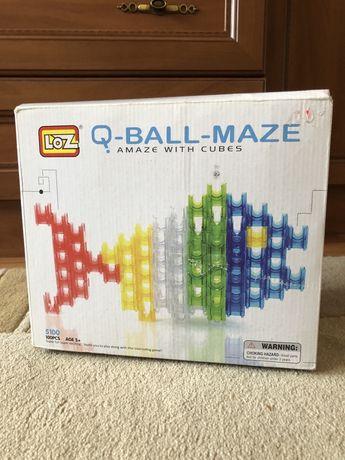 Динамический конструктор LOZ Q-Ball-Maze 5100 лабиринт с шариками