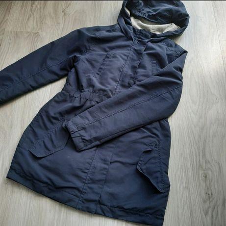 Płaszczyk kurtka jesienna przejściowa dziewczęca parka wiosenna  140
