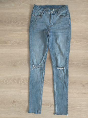 Spodnie jeansy h&m 34