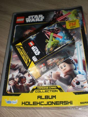 album karty limitki zestaw startowy lego star wars+ box 25 saszetek
