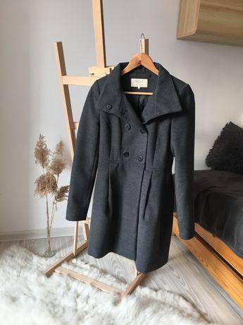 Szary płaszcz r.M, Zara