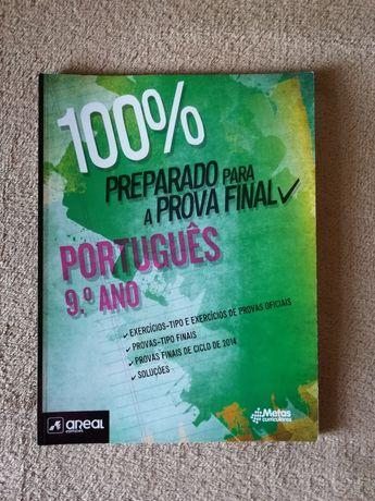Livro auxiliar Português 9º ano - 100% preparar para a prova final