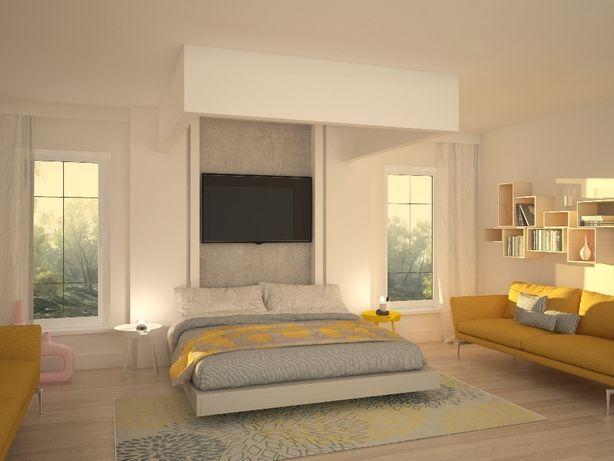 Łóżko chowane w suficie