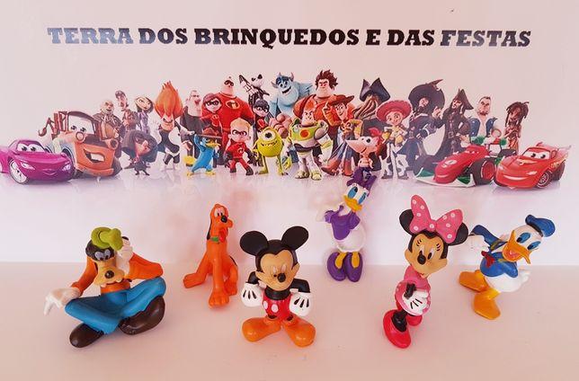 6 pcs Disney Topo de Bolo Mickey Minnie (Portes Incluídos)