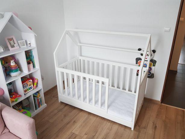 Łóżko domek skandynawskie dla dziecka