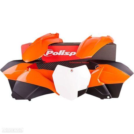 kit plasticos polisport ktm exc 125 / 250 / 450