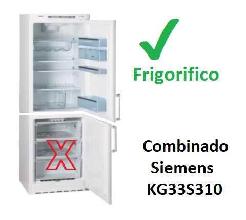 Frigorifico de Combinado Siemens KG33S310 (Arca avariada)