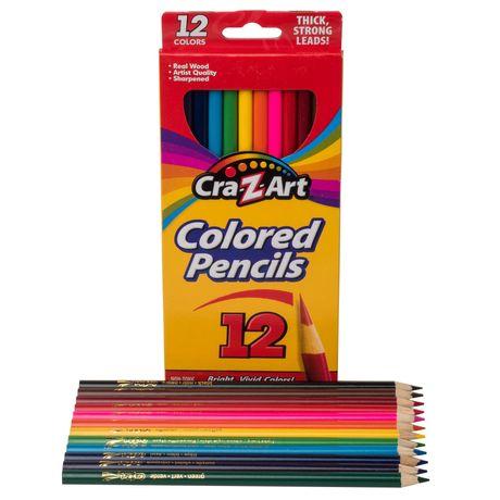 Цветные карандаши хорошего качества CraZart 12шт деревянные crayola