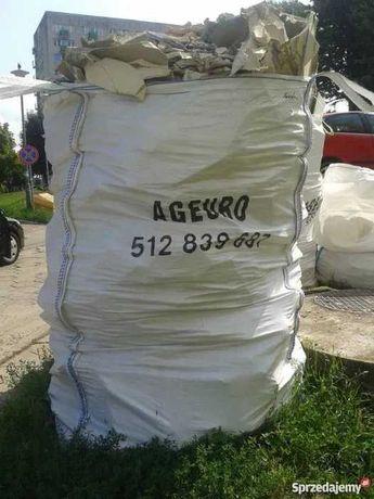 Worki na gruz i śmieci big bag NAJTANIEJ
