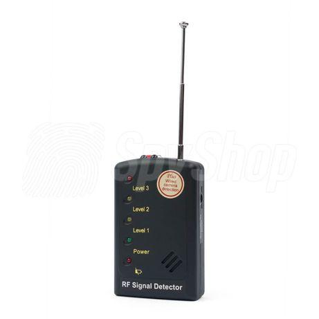 SH-065 - kompaktowy wykrywacz kamer bezprzewodowych i podsłuchów