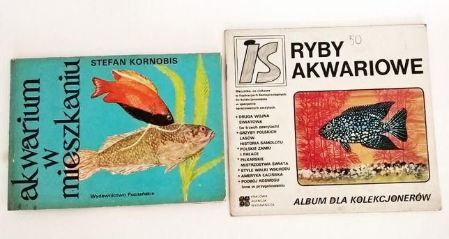 2 książki ryby akwariowe akwarium