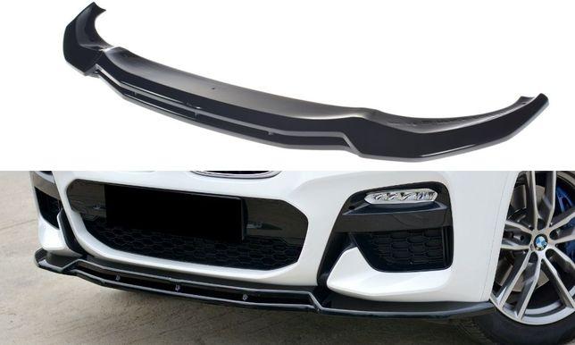 Сплиттер, губа, накладка переднего бампера BMW X3 G01 X4 G02