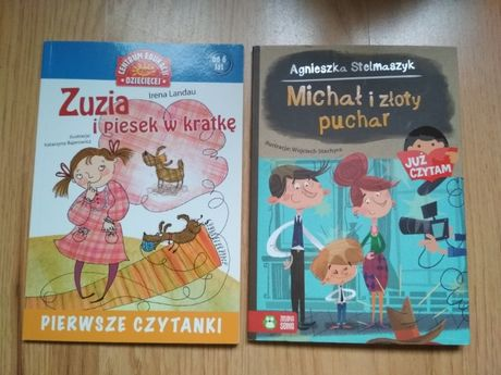 Książki dla dzieci z serii pierwsze czytanki