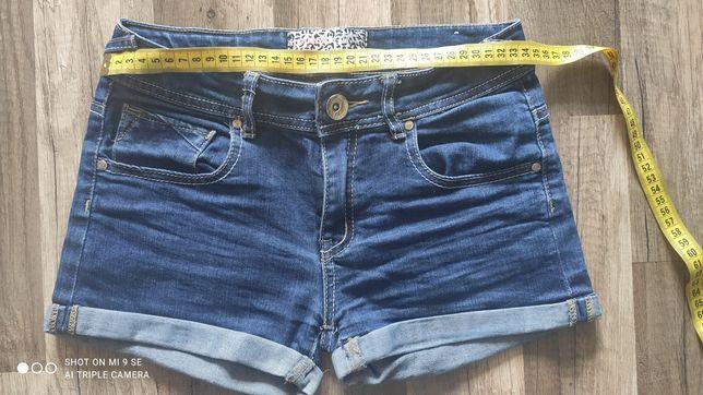 Джинсовые шорты на девочку 140 см, джинсові шорти на дічинку