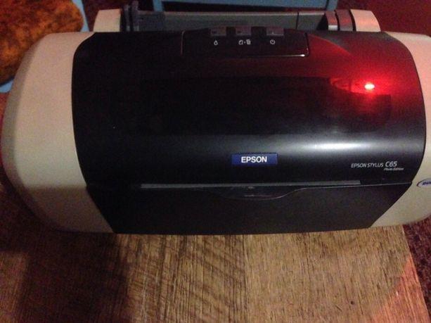 Принтер Epson б/у и Новые картриджи