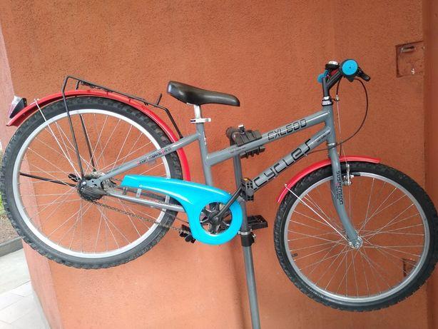 Rower górski typu damka na kołach 24 cale dla juniora