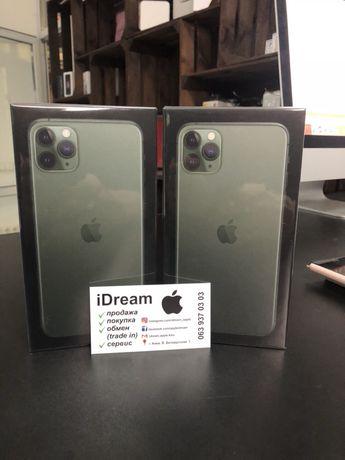 Apple iPhone 11 Pro 64 gb Midnight Green НОВЫЕ с ГАРАНТИЕЙ от МАГАЗИНА