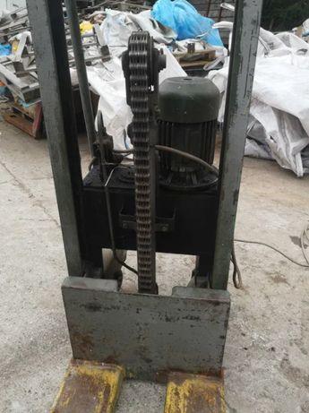 Paleciak masztowy elektryczny hydrauliczny
