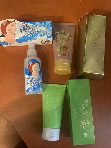 Корейская косметика Elizavecca,пилинг Mizon. Очищение и увлажнение.