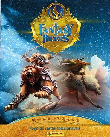 Fantasy Riders Brand New cards + Portfolio Pro + 2xSleeves