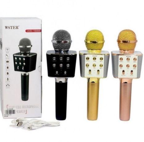 Красочный / стереоколонка / (Вокальный Bluetooth) / микрофон WS-1688