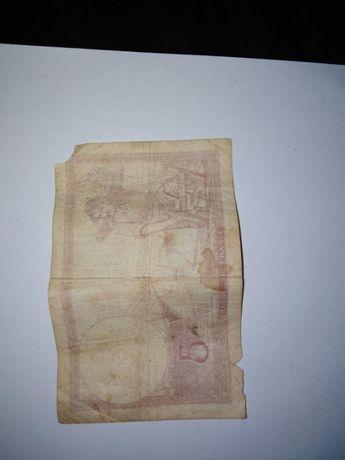 Nota 5 francos (França) 1939