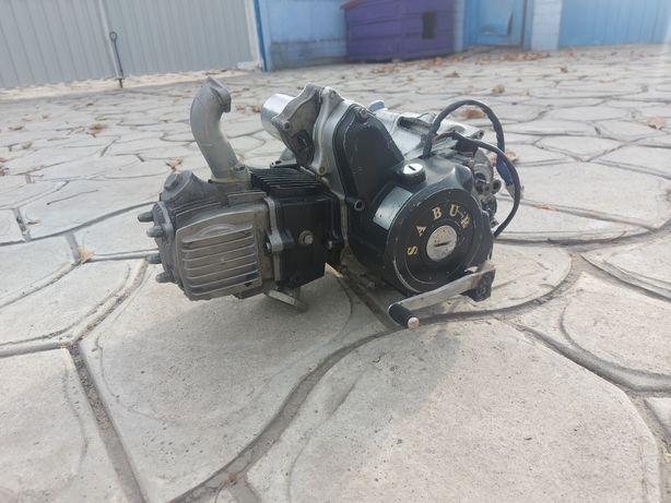 Мотор двигатель альфа 110 кубов