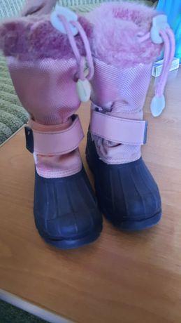 Сапоги зимние с прорезиненым носком