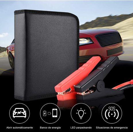 Arrancador carros bateria 12 v - booster portatil - powerbank auto