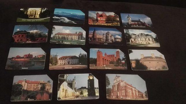 Karty telefoniczne miasta