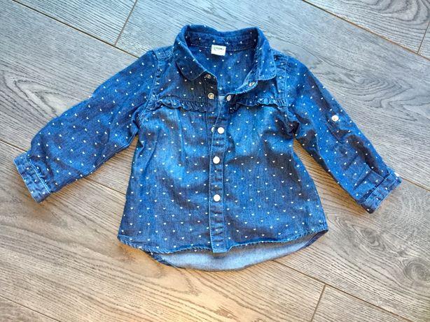 koszula dla dziewczynki SMYK 74