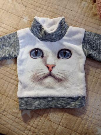 Продам кофточку с котиком