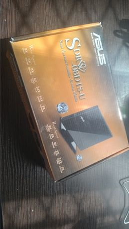 2.0 External Slim  Внешний привод Asus SDRW-08D1S-U Black USB 2.0 Ext