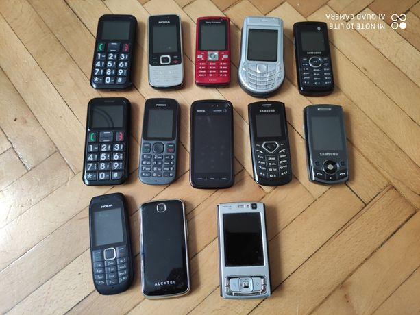 Mega zestaw telefonów komórkowych 13szt