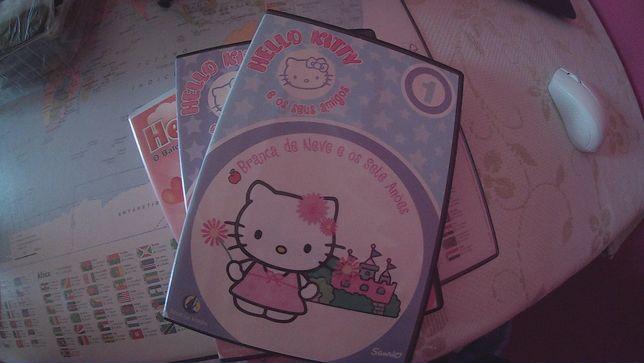Vendo DVD´S da Hello Kitty (Portes Incluídos)