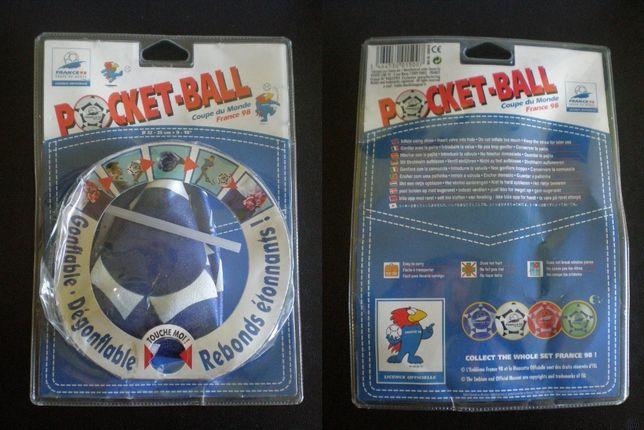Pocket-Ball France 98 + Bola PES 2010 + Bola PES 2011