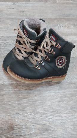 Сапожки ботинки кожаные Kemal Pafi