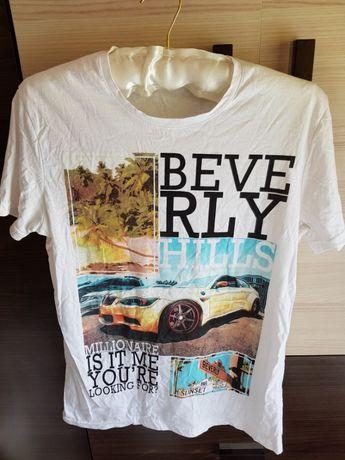T-Shirt , Koszulka Męska Rozmiar M Idealny Stan Jak Nowa