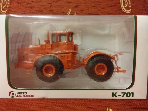 К-701Кировец Трактор Автоистория 1/43