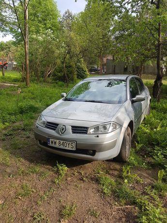 Renault Megane, 95000km, od nowości w rodzinie. Bezwypadkowe