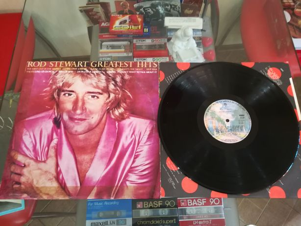 Пластинка Rod Stewart Greatest Hits.