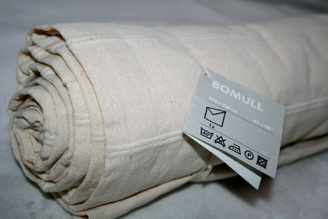 Narzuta z tkaniny bawełnianej IKEA – NOWA