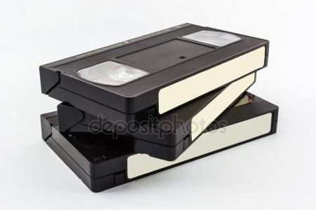 Przegrywanie stary kaset VHS