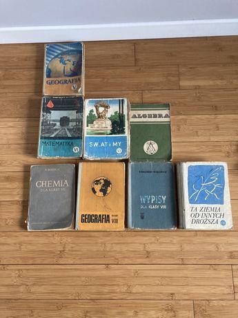 Podręczniki szkolne z lat 60 i 70