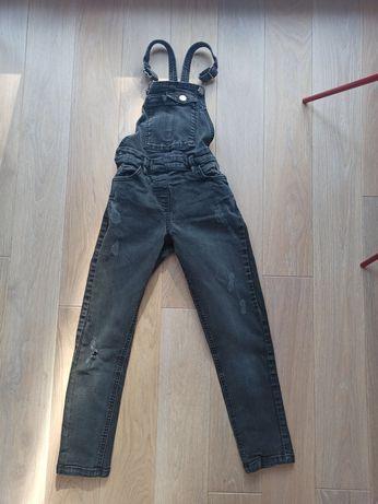 Spodnie na szelkach, ogrodniczki, Next , 9 lat
