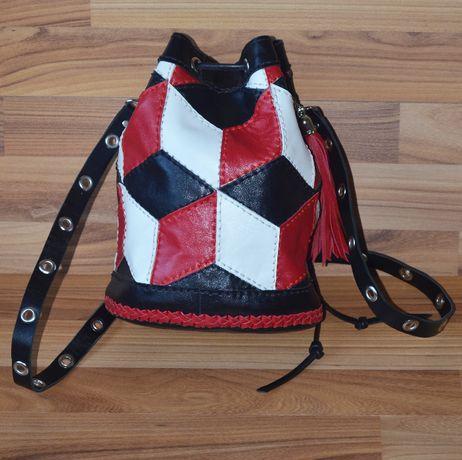 Продам женскую сумку из натуральной кожи