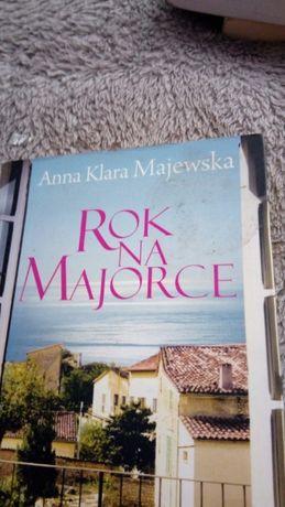 """Tanio sprzedam -""""Rok na Majorce""""- A.N. Majewska"""