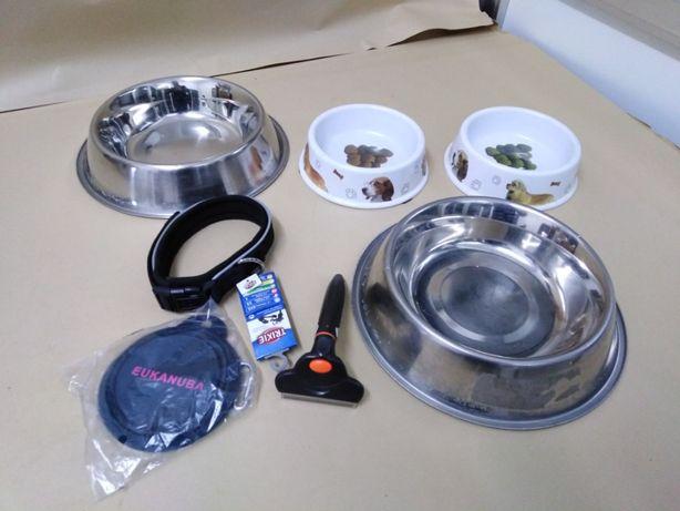 Acessórios para Cão lote de várias peças, veja descrição abaixo